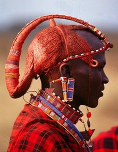 Maasai Tribal People Are Serious About Their Hair Check Out 14 Of Their Most Exotic Looks [Gallery]  Read the article here - http://www.blackhairinformation.com/general-articles/playlists/maasai-tribal-people-are-serious-about-their-hair-check-out-14-of-their-most-exotic-looks-gallery/
