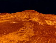This is the surface of Venus. I want to write about this strange but close planet. ctsuddeth.com