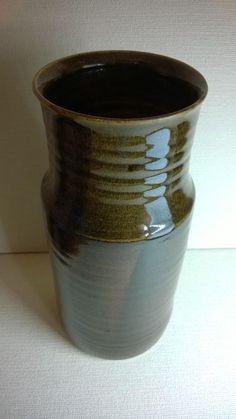 Large Vintage Vase by the late John Virando Richmond Hill British Studio Pottery