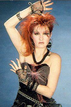 "Cyndi Lauper gave women their battleshout in the ""Girls Just Wanna Have Fun"". Janis Joplin, Cyndi Lauper Costume, Cindy Lauper 80s, 1980s Costume, Costumes, Divas Pop, 80s Trends, 80s Punk, The Wedding Singer"