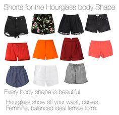 Designer Clothes, Shoes & Bags for Women Hourglass Clothes, Hourglass Figure Outfits, Hourglass Fashion, Short Outfits, Simple Outfits, Summer Outfits, Hourglass Body Shape, Elegant Lady, Summer Shorts