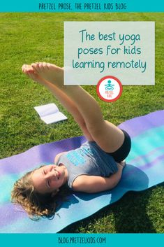 The Best Yoga Poses for Kids Learning Remotely Teaching Yoga To Kids, Yoga For Kids, Exercise For Kids, Kids Learning, Standing Yoga Poses, All Yoga Poses, Become A Yoga Instructor, Childrens Yoga, Fitness Facts