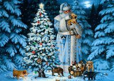 Santa's friends - Winter Wallpaper ID 1617055 - Desktop Nexus Nature