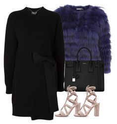 """""""Untitled #4379"""" by maddie1128 ❤ liked on Polyvore featuring Alice + Olivia, Proenza Schouler, Yves Saint Laurent, Gianvito Rossi and Christian Dior"""