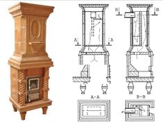 Galerie modele sobe si semineuri BISTRITA Heating Systems, Stoves, Terracotta, Floor Plans, House, Home Decor, Decoration Home, Home, Room Decor