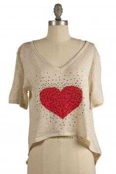 Heartbreaker Sweater Tee