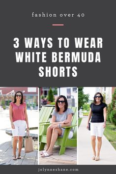 Manarola boho cuff Everyday Casual Outfits, Simple Outfits, Short Outfits, Summer Outfits, Night Outfits, Bermuda Shorts Outfit, Silver Wedge Sandals, Tortoise Cat, Fashion For Women Over 40