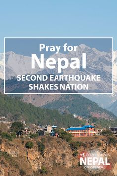 Another major earthquake shook Nepal this morning, just over two weeks after the first quake. There have been multiple substantial aftershocks in the past 6 hours. Dozens have died, more than 1,000 are injured and many people live in fear. Let's get on our knees and pray for Nepal. http://www.gfa.org/earthquake/nepal/?motiv=WB54-PNER&cm_mmc=Pinterest-_-WM-_-PhotoLink-_-NepalEarthquake #PrayForNepal