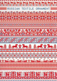 One of the traditional Russian patterns (postcard) | Flickr - Photo Sharing!