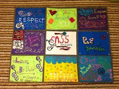 Middle School Girls Group Blog Post, Felt Quilt for Final Activity