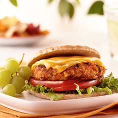 Add a kick to veggie burgers by adding Sharp Cheddar American Blend.