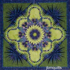 Dragon Star pattern by Judy Niemeyer. this quilt is Helen's fault 2013 Bargello Quilts, Star Quilts, Quilt Blocks, Star Quilt Patterns, Paper Piecing Patterns, Watercolor Quilt, Dragon Star, Quilting Designs, Quilting Ideas