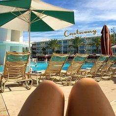 View right now  @cabanabayresort . #teamcastaway #cabanabay #florida…