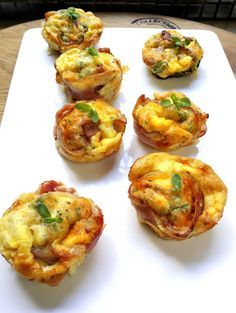 Low-Carb Double-Bacon Cheese & Herb Mini Quiches/these can easily be changed up.I used shrimp and gruyere cheese/you could use sausage and cheddar.keep it simple and easy Banting Diet, Banting Recipes, Low Carb Recipes, Diet Recipes, Cooking Recipes, Healthy Recipes, Recipies, Ketosis Diet, Banting Breakfast
