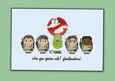 Mini People - Ghostbusters by cloudsfactory.deviantart.com on @DeviantArt