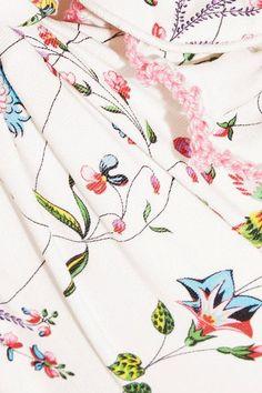 Anjuna - Diodata Off-the-shoulder Floral-print Bikini - White - large