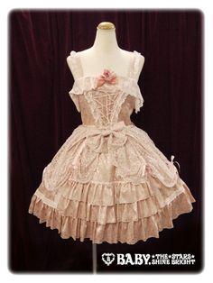 baby, the stars shine bright Sleeping beauty jumper skirt