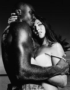 Girls black white men date White Girl