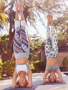 Nomad Salutation Mesh Capri | yoga pants | yoga capris | yoga leggings | workout clothes | workout leggings | workout attire | fitness clothes | #ad
