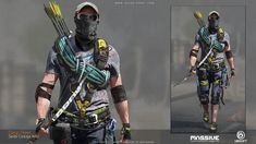 ArtStation - Tom Clancy's The Division 2 - Ambushers, Diego Peres Peres / Insta: The Division Gear, Tom Clancy The Division, Apocalypse Costume, Apocalypse Art, Apocalypse Survivor, Post Apocalyptic Art, The Hanged Man, Military Action Figures, Armor Concept