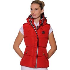 A beautiful design that will stand out from the crowd. The Spooks Snoop Hood Ladies Gilet has a stunning design with a detachable hood that looks like no other. The contrasting collar and zipper placket completes a stylish look. Horse Rugs, Equestrian, That Look, Casual Outfits, Autumn, Stylish, Lady, Winter