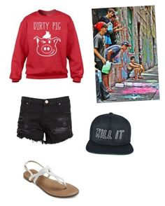 """Milk Challenge with The Janoskians. Daniels's girl."" by fivesos-always ❤ liked on Polyvore featuring Zoe Karssen, A Question Of, women's clothing, women, female, woman, misses and juniors"