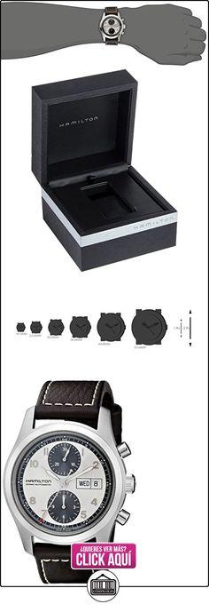 Hamilton H71566553 - Reloj de pulsera hombre, sintético  ✿ Relojes para hombre - (Lujo) ✿ ▬► Ver oferta: https://comprar.io/goto/B006LYZX4M