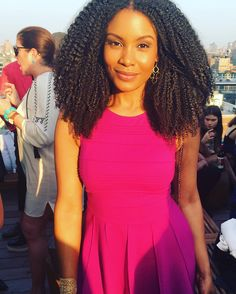 Quinn Miles and her gorgeous natural hair.