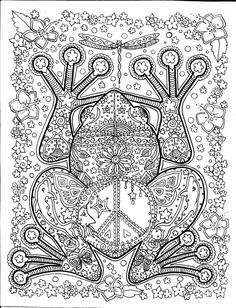 Printable Adult Coloring Pages. 63 Printable Adult Coloring Pages. 20 Gorgeous Free Printable Adult Coloring Pages Frog Coloring Pages, Printable Adult Coloring Pages, Free Coloring, Coloring Sheets, Coloring Books, Zentangles, Doodles, Unique Animals, Big Animals