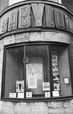Berlin DDR 1987 Kinotheater Babylon