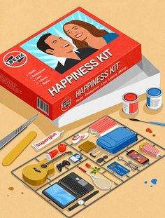 Satirical Illustrations Of Today's Problems, John Holcroft.