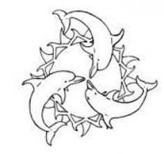 dolphin tattoo - Google Search #turtletattoos #turtle #tattoos #dolphins Family Tattoos, Love Tattoos, Body Art Tattoos, Tatoos, Awesome Tattoos, Doodle Tattoo, Tattoo Drawings, Tattoo Art, Rose Coloring Pages
