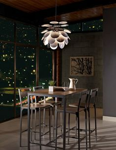 Lilly Pendant - contemporary - chandeliers - Lightology