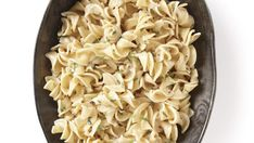 Egg Noodles with Creamy Mustard-Tarragon Sauce - Recipe - FineCooking Vegetarian Main Dishes, Vegetarian Entrees, Vegetarian Cooking, Spicy Recipes, Pasta Recipes, Cooking Recipes, Tarragon Sauce Recipes, My Food Pyramid, Mustard Recipe