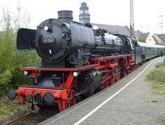 dampflok 41 360 in Vohwinkel am 28. Oktober 2007- Bing Bilder Bing Bilder, Vehicles, Image, Train, Autos, Airplanes, October, Antique Cars, Car