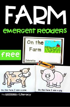 If you are learning about farms and farm animals, this farm emergent reader for kids is the perfect addition to your plans! Toddler Learning, Preschool Learning, Fun Learning, Farm Activities, Animal Activities, Kindergarten Freebies, Kindergarten Literacy, Head Start Classroom, Farm Unit