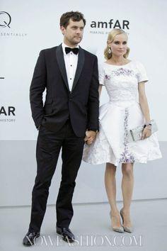 Joshua Jackson + Diane Kruger, Cannes 2012