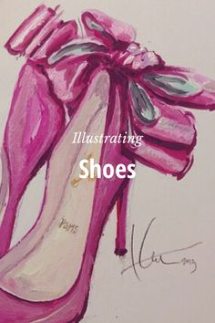 Illustrating Shoes: Katie Rodgers's Story on STELLER #steller