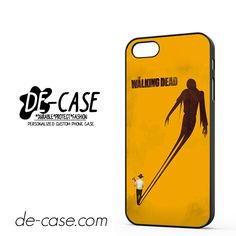 The Walking Dead In Orange DEAL-11089 Apple Phonecase Cover For Iphone SE Case