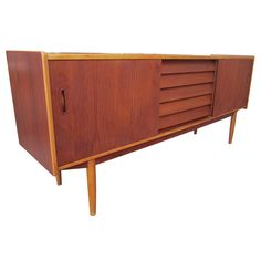 Swedish Teak and Ash Credenza - I need one of these in my life