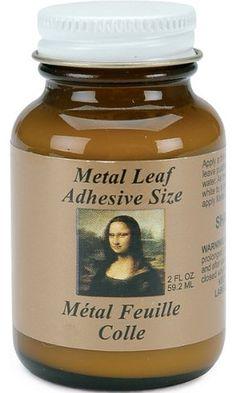Speedball Mona Lisa 2-Ounce Metal Leaf Adhesive Size