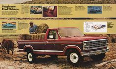 1980 Pickup Ford Truck Sales Brochure
