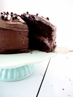 Magic Chocolate Cake, Chocolate Heaven, Chocolate Cupcakes, Chocolate Desserts, Food Cakes, Cupcake Cakes, Baking Recipes, Cake Recipes, Chocolate Chip Muffins
