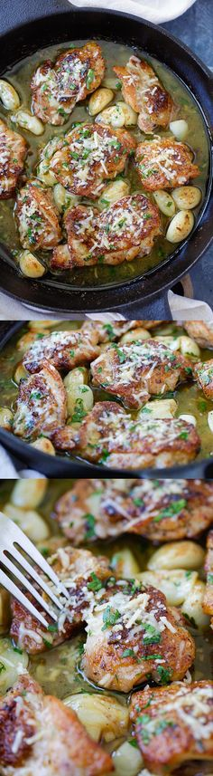 Made- good and easy Buttery Garlic Parmesan Chicken