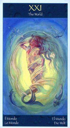 The World - Tarot of Mermaids