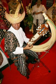 Sasando, traditional musical instrument from the Rote Islands - Indonesia
