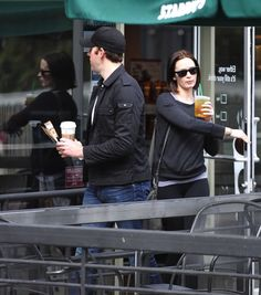 I'm so going to Starbucks to grab myself some Emily Blunt