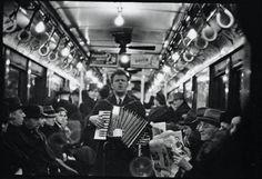 Subway Portrait, Walker Evans, 1938