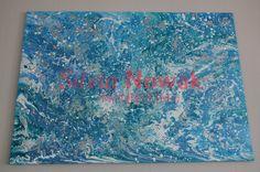 Ozean,Silvia Nowak Mannheim-Abstrakte Kunst, Moderne Kunst, Acrylbilder, Acrylfarben, Acryl, Acrylic Painting, Abstract Canvas, Art Painting, Fluid Acryl, Fluid Acrylic, Fluid Painting, Fluid Canvas, Abstract Painting,