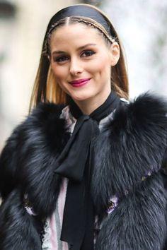 Olivia Palermo - La socialité marca una nueva tendencia de usar accesorios en el pelo - March 2017 #OpHair